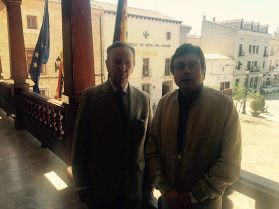 Globalcaja muestra su compromiso y cercanía con el desarrollo económico y social de Mota del Cuervo