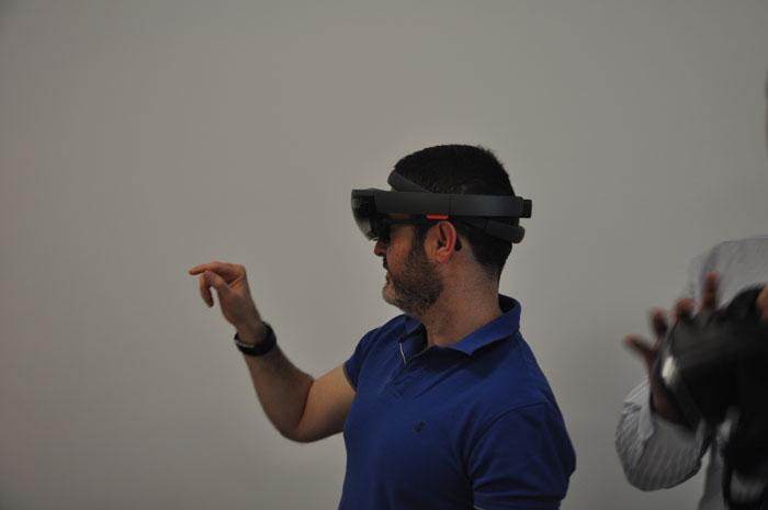 Cerca de veinte empresas aprenden a potenciar su negocio con el uso de la realidad virtual