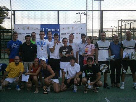 Juan Carlos Guijarro y Fco Cañamares ganan el II Torneo de Padel COPE Cuenca