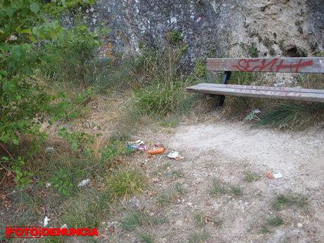 FD: Basura en la subida al Cerro Socorro