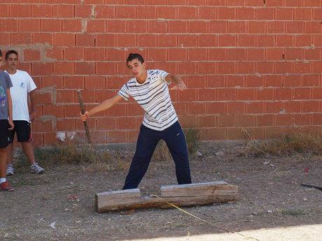 Aliaguilla acogió la 5ª jornada de la XXVI Competición Provincial de Juegos y Deportes Tradicionales