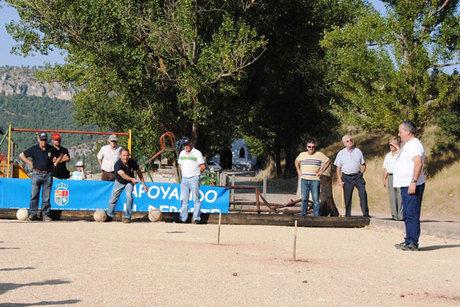 Huélamo acogió la 6ª Competición  del IV Circuito de Bolos en la Serranía