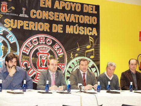 Los 'populares' olvidan pedir la ubicación en Cuenca del Conservatorio Superior de Música de C-LM