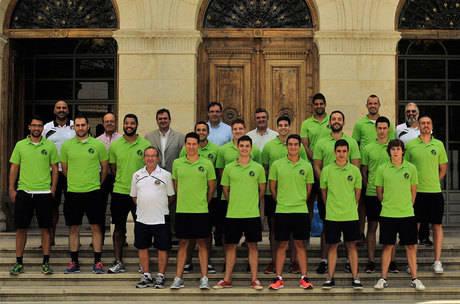 Prieto desea una buena temporada al Balonmano Ciudad Encantada
