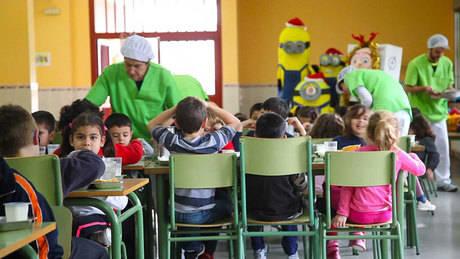 El próximo curso escolar 11 comedores más para dar respuesta al aumento de demanda experimentado en los últimos años