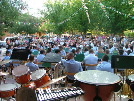 Gran participación en las fiestas de Casablanca
