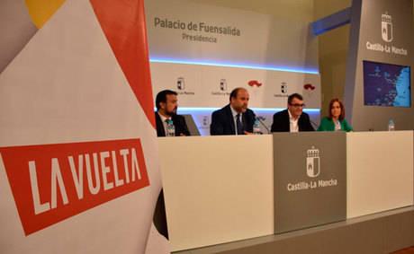 El Gobierno regional destaca la oportunidad que supone el paso de 'La Vuelta' para la promoción turística de Castilla-La Mancha