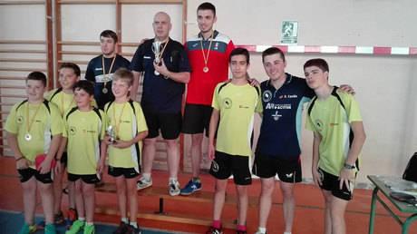 El Club Tenis de Mesa Aranjuez se impone por equipos y Rubén Ramírez en individual en el II Campeonato Diputación de Cuenca