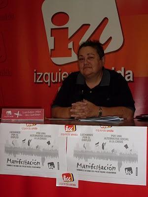Izquierda Unida Cuenca se manifiesta contraria a la intervención militar en Libia