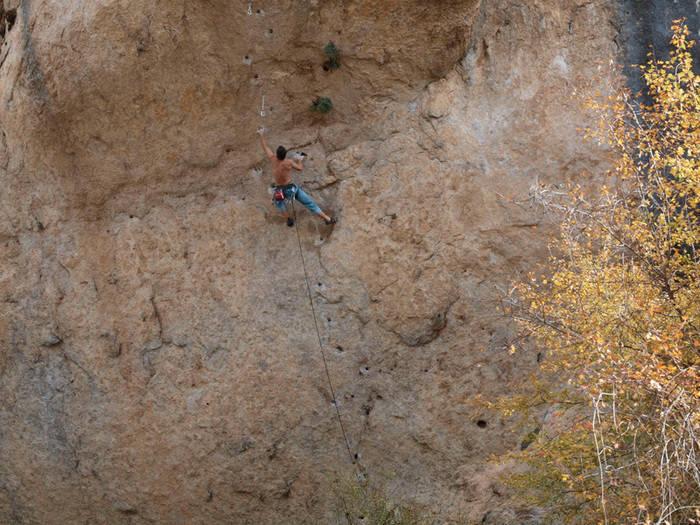 Rescatan a una mujer que se ha caído haciendo escalada en la capital