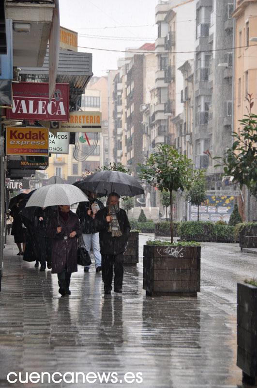 En alerta por lluvias y tormentas