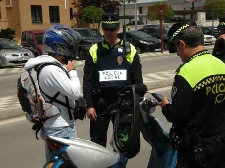 La Policía Local de Cuenca inicia una nueva campaña de control de ruidos de ciclomotores