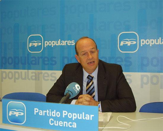 """Tortosa: """"Page debería tomar ejemplo del Gobierno de Rajoy, que va a crear 406 empleos en 45 municipios de Cuenca sin pedir dinero a otras administraciones"""""""