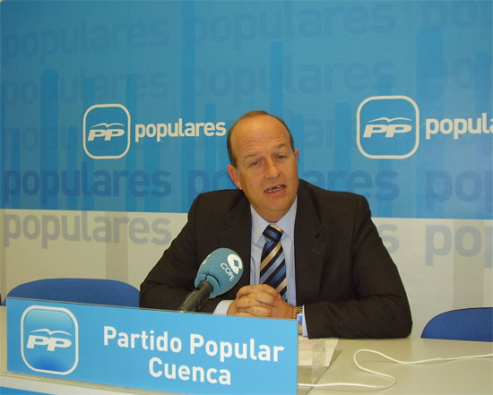 "Tortosa: ""Para los conquenses, Barreda y Zapatero se han convertido en sinónimo de desesperanza e incertidumbre"""