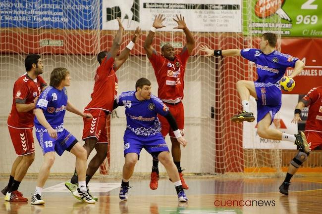 El Cuenca no pudo aguantar al Dinamo Minsk (24-32)