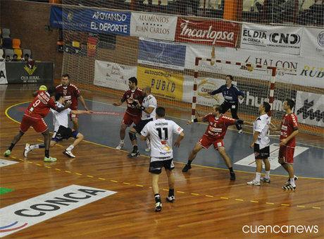 Victoria contundente del Cuenca frente al Alcobendas (18-28)
