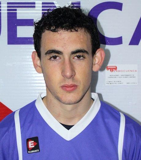 Diego Abarca, convocado con la selección sub-18 de Castilla La Mancha.