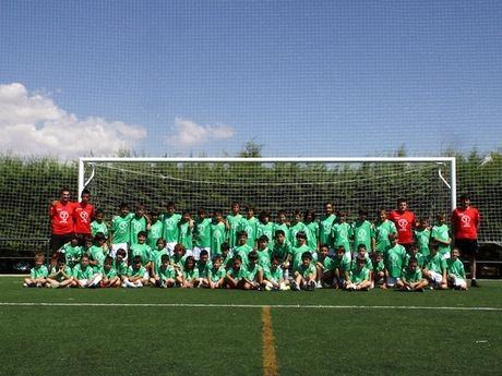 Arrancó por 7º año consecutivo el Campus de Fútbol Ciudad de Cuenca