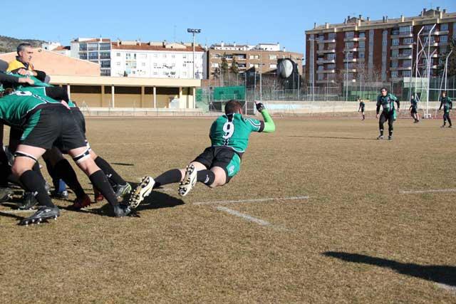 Trabajada victoria del club rugby 'A Palos'