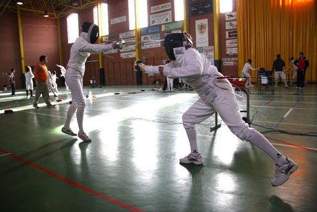 El CDE Espadas Colgadas en el III Campeonato de Esgrima a espada en Campo de Criptana