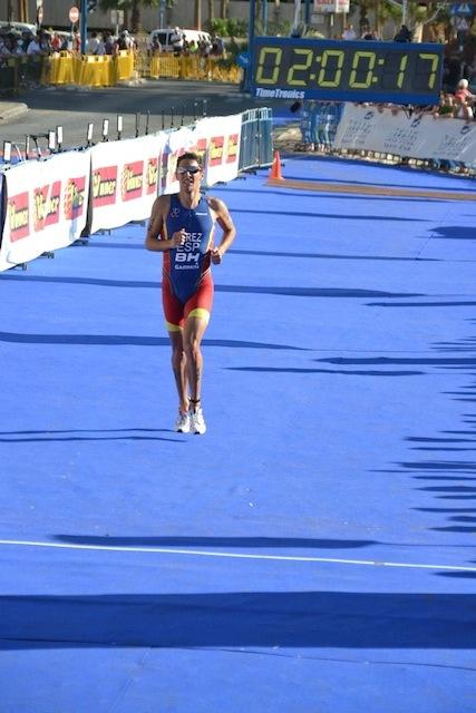 Josemi Pérez acusa el cansancio y finaliza 28º en el Europeo de Eilat