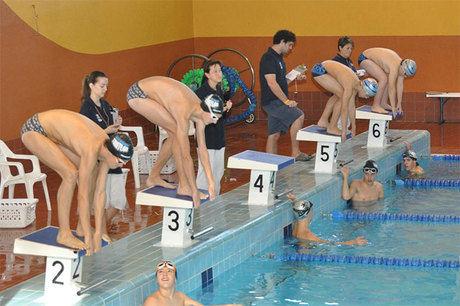 """I Jornada deporte base de natación en la piscina cubierta """"Luis Ocaña"""""""