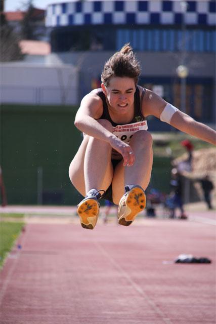 Campeonato provincial de atletismo categorías cadete y juvenil