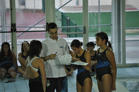 El Club Natación Cuenca viajo hasta Alcázar para participar en la I Jornada de la Liga Territorial de Natación de Segunda División