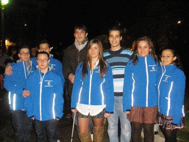 Integrantes del Club Natación Cuenca participaron en la Gala del Deporte conquense