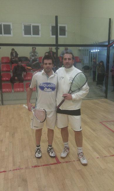 Raúl Asensio ganan el IV Torneo Navideño Alajú de Squash