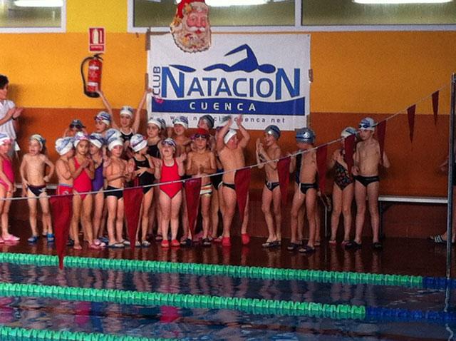 """La Piscina cubierta """"Luis Ocaña"""" acogió la I Jornada de Deporte Base en Edad Escolar de Natación"""