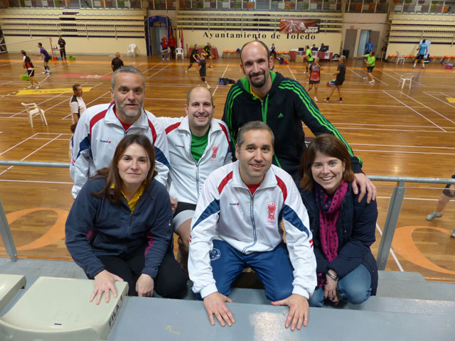El Club Albatros de Cuenca en la tercera prueba del Circuito Nacional Senior de Bádminton en Toledo