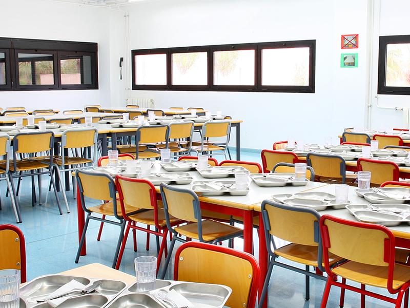 El ayuntamiento abrir un comedor escolar durante la for El comedor escolar