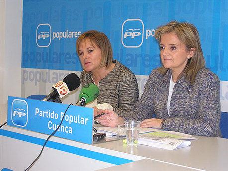 """Bonilla asegura que el binomio Zapatero-Barreda """"ha sido letal para Castilla-La Mancha y para Cuenca"""""""