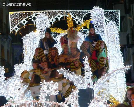Los Reyes Magos llegarán a la estación de Cuenca Fernando Zóbel