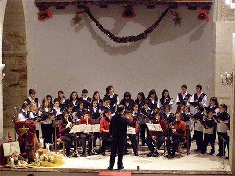 Gran éxito del concierto benéfico de villancicos 'Un niño, una sonrisa'