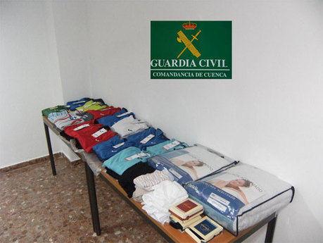 La Guardia Civil detiene a una persona como presunto autor de un robo  en una tienda deportiva  en Las Pedroñeras