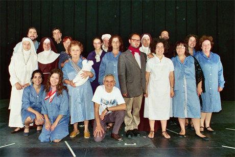 """La Escuela Municipal de Teatro de Villalba de la Sierra representara la  obra """"Presas"""" en el Teatro Auditorio de Cuenca"""