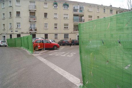 """GMS: """"No entendemos que la calle Astrana Marín lleve un mes vallada y no hayan comenzado las obras del parking"""""""