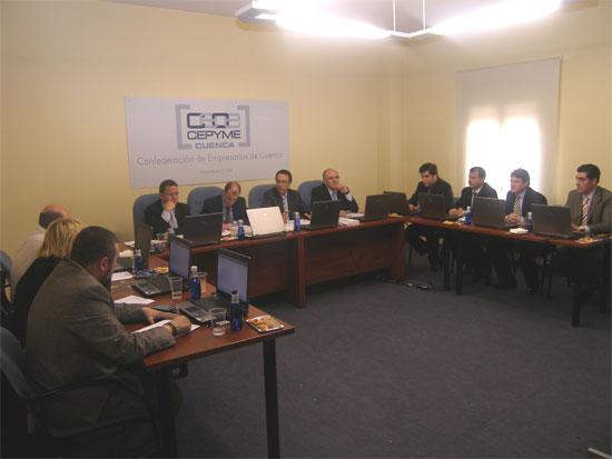 CEOE CEPYME Cuenca espera ayudar a las empresas y autónomos a superar el 2011