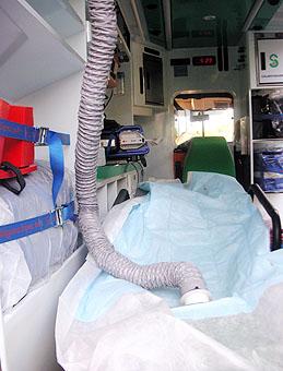 Estudian la utilidad de la hipotermia inducida en las UVIs móviles a pacientes que han superado una parada cardiorespiratoria