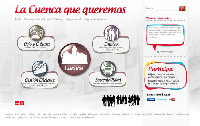 """""""La Cuenca que queremos"""" recibe más de 2.000 visitas y medio millar de sugerencias en una semana"""