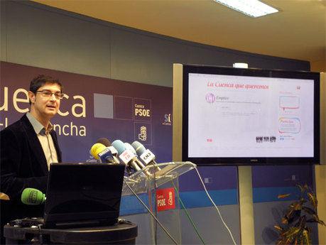 """Ávila invita a todos los ciudadanos a diseñar """"La Cuenca que queremos"""""""