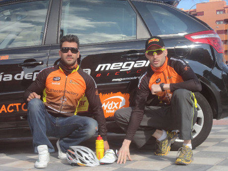 Electrofactory, equipo de Mountain Bike se presenta este sábado en el C.C. El Mirador