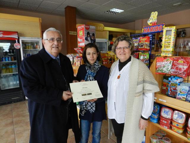 La gasolinera 'La Rotonda' de Tarancón premiada por su hospitalidad