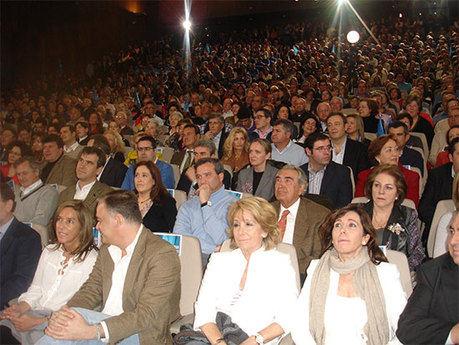 """El PP de Cuenca muestra a Cospedal su más firme apoyo como """"la presidenta del futuro, la ilusión y la confianza"""""""
