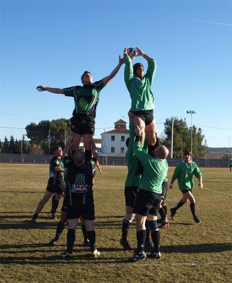 Buena primera parte, muy mejorable segunda del Club de Rugby 'A Palos'