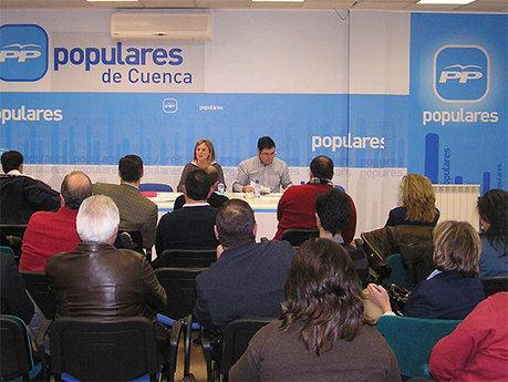 """El Partido Popular de Cuenca aprueba el Comité de Campaña """"preparados para lograr la victoria electoral"""""""