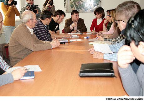 El Alcalde se reúne con los consejos de área para hacer una planificación conjunta de actividades