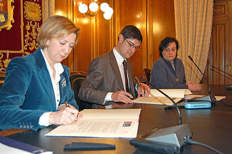 Junta y Diputación sellan su compromiso con la Semana de Música Religiosa de Cuenca